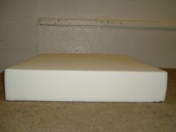 latex cushion depth